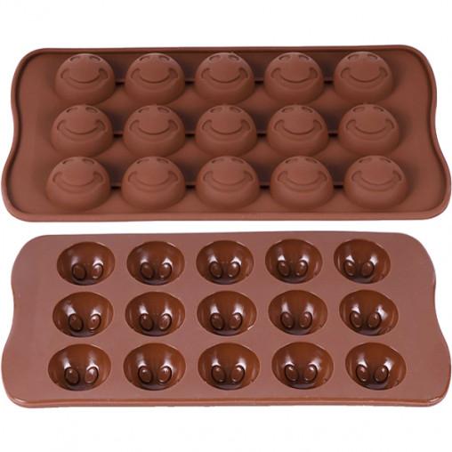 Форма силиконовая для конфет, льда 21,5*10,5*1см X3-123