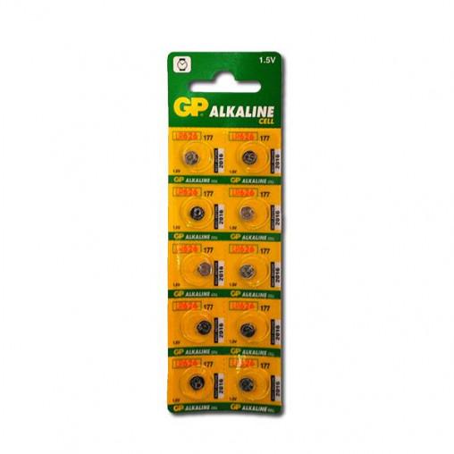 """Батарейка GP-177 LR626 """"таблетка"""" GP-026690"""
