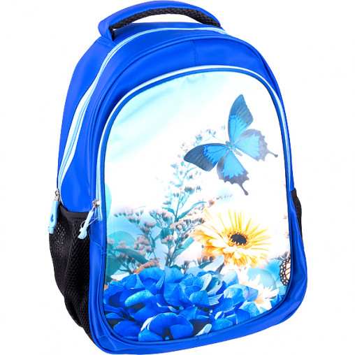 "Рюкзак California M ""Цветочки-бабочки""  42*29*13см 980669"