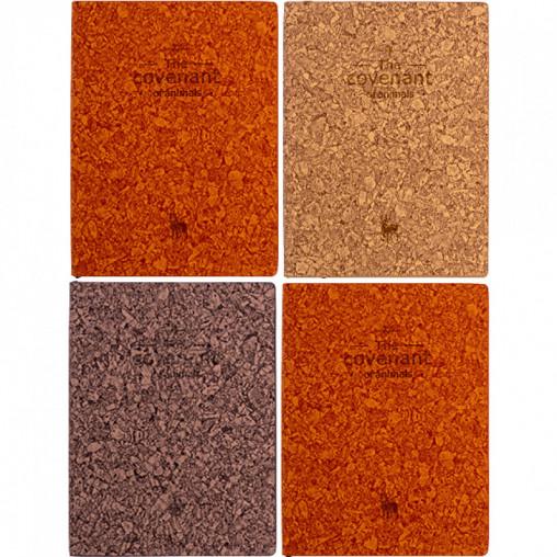 Блокнот 14,5*10,5см интегральная обл., кож/зам линия 64-65