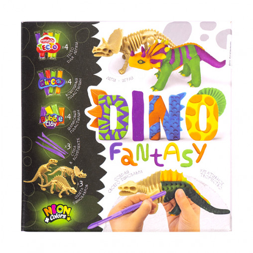 "Креативное творчество ""Dino Fantasy"" рус DF-01-01.02 ДТ-ТЛ-02104"