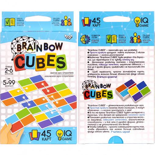 """Настольная карточная игра """"Brainbow CUBES"""" G-BRC-01-01 ДТ-МН-14-49"""