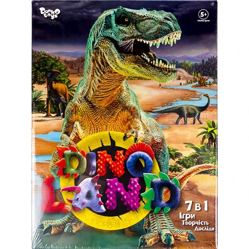 """Креативное творчество """"Dino Land 7 в 1"""" укр DL-01-01U/ДТ-ОО-09302"""