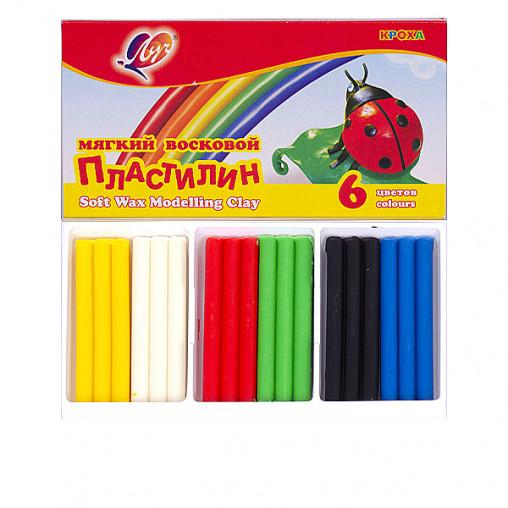 """Пластилин """"Кроха"""" 6 цветов, 90 г """"Луч"""" 863-08/38007"""
